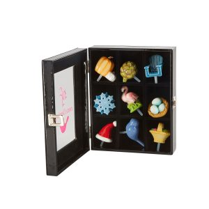NORA FLEMING 9 PIECE MINI KEEPSAKE BOX