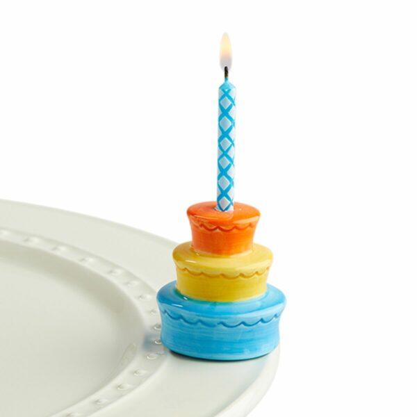 NORA FLEMING MINI BEST BIRTHDAY EVER CAKE