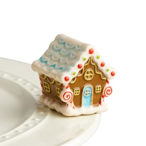 NORA FLEMING MINI CANDYLAND GINGERBREAD HOUSE