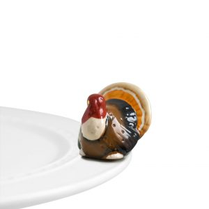 NORA FLEMING MINI GOBBLE GOBBLE TURKEY