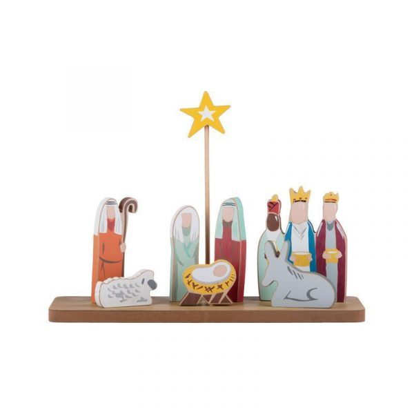 OH HOLY NIGHT NATIVITY STAND