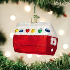 OLD WORLD CHRISTMAS ICE CHEST ORNAMENT
