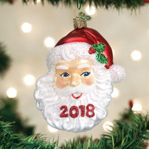 OLD WORLD CHRISTMAS NOSTALGIC SANTA ORNAMENT