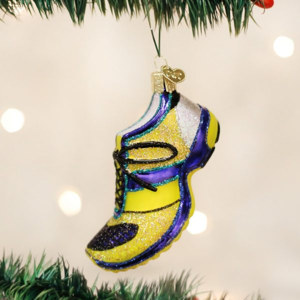 OLD WORLD CHRISTMAS RUNNING SHOE ORNAMENT