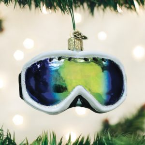 OLD WORLD CHRISTMAS SKI GOGGLES ORNAMENT