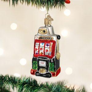 OLD WORLD CHRISTMAS SLOT MACHINE ORNAMENT