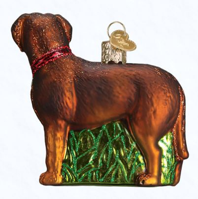 OLD WORLD CHRISTMAS STANDING CHOCOLATE LAB ORNAMENT. $14.99. 4 in stock - OLD WORLD CHRISTMAS STANDING CHOCOLATE LAB ORNAMENT Magpies Gifts