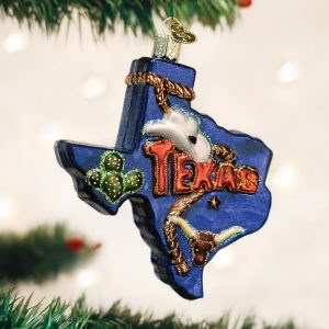 OLD WORLD CHRISTMAS STATE OF TEXAS ORNAMENT