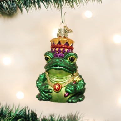 OLD WORLD CHRISTMAS THE FROG KING