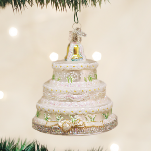OLD WORLD CHRISTMAS WEDDING CAKE