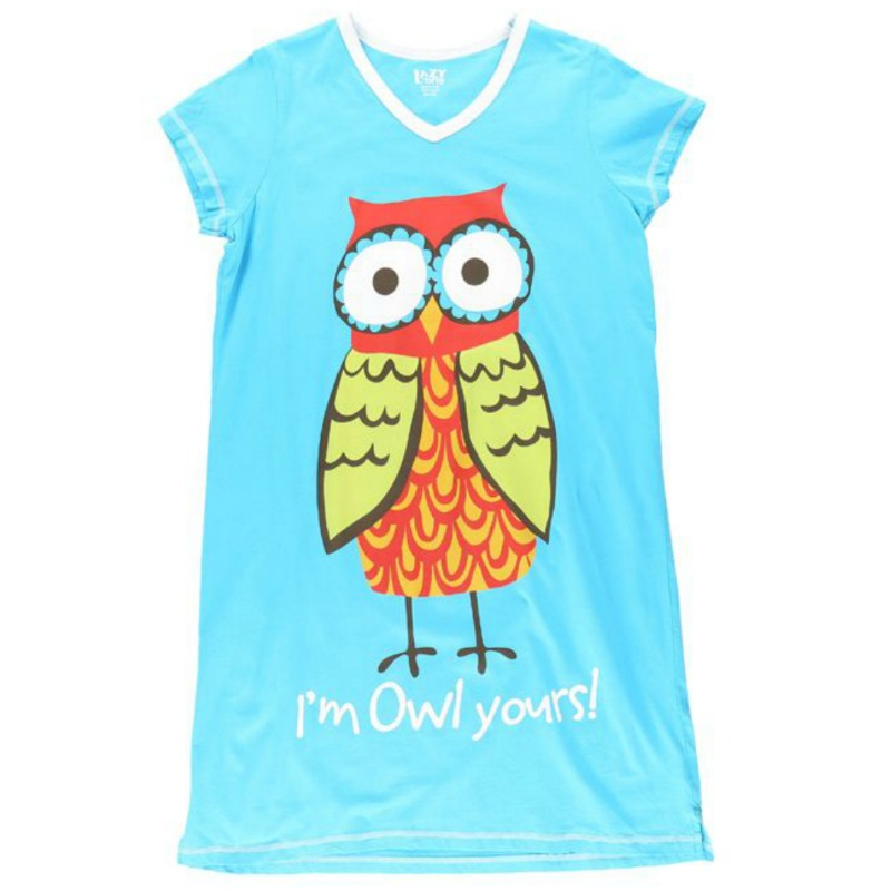 2864dc439e OWL YOURS NIGHTSHIRT