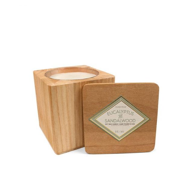 PADDY WAX WOODS CANDLE - EUCALYPTUS & SANDALWOOD
