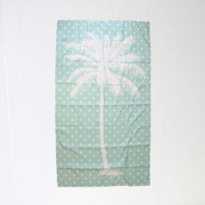PALM TREE GIANT BEACH TOWEL