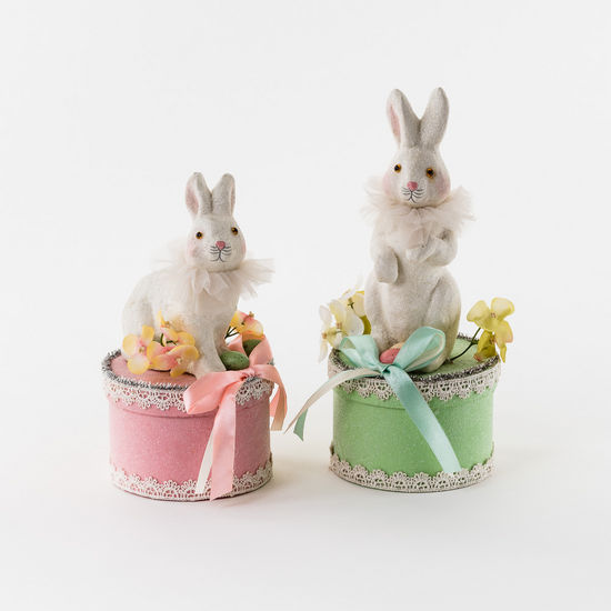 PAPER PULP BUNNY BOXES