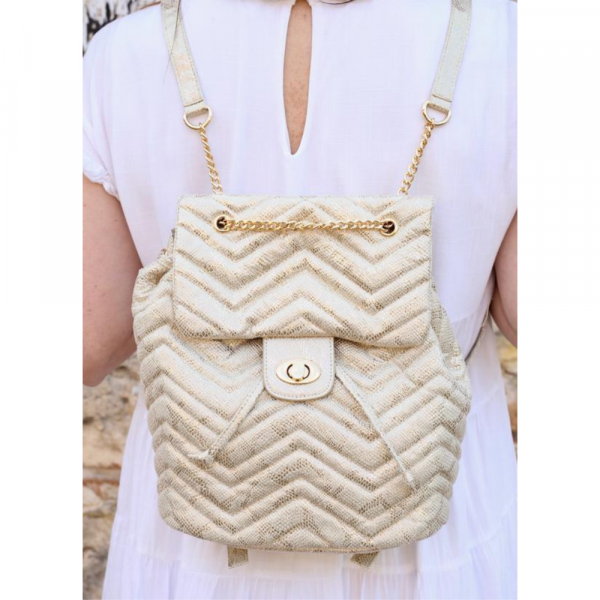 PARVEY QUILTED BACKPACK