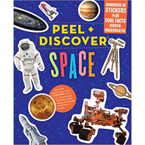 PEEL AND DISCOVER SPACE