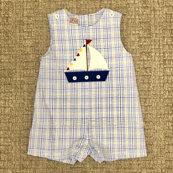 PETIT AMI SAILBOAT JUMPER SUNSUIT