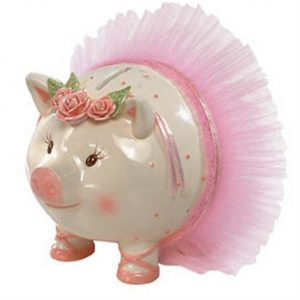 PIGGY BALLERINA BANK