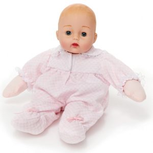 MADAME ALEXANDER PINK CHECK HUGGUMS BABY DOLL