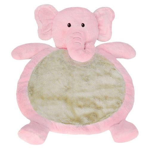 PINK ELEPHANT BABY MAT