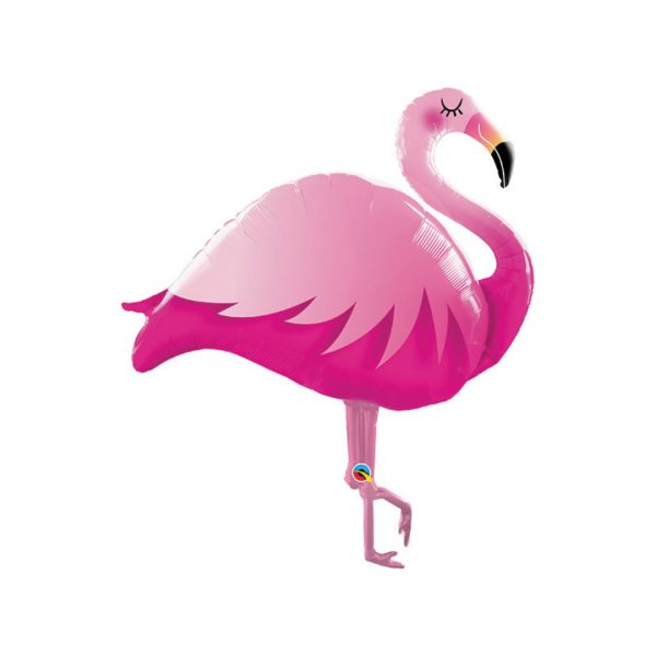 PINK FLAMINGO SHAPE BALLOON