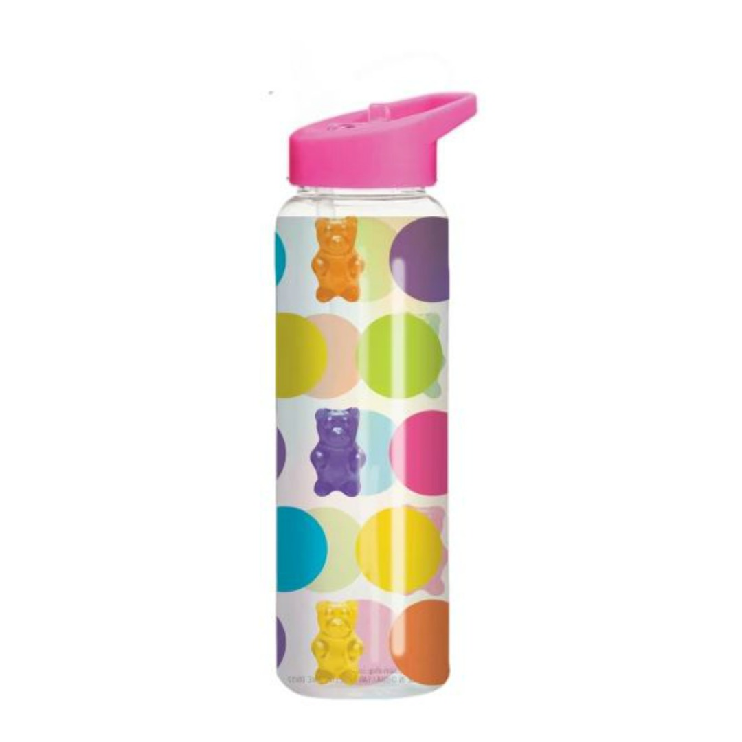POLKA DOT GUMMY BEAR WATER BOTTLE