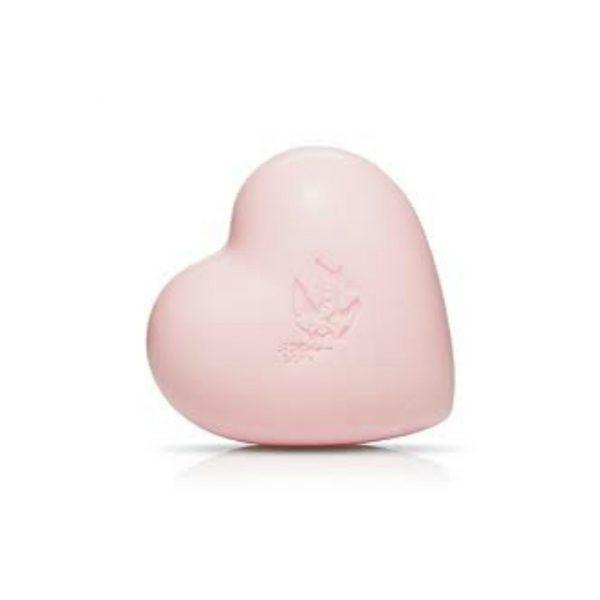 PRE DE PROVENCE TEA ROSE HEART SOAP