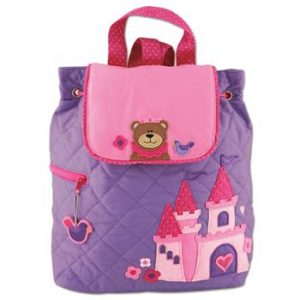 PRINCESS BEAR QUILTED BACKPACK