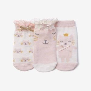 PRINCESS KITTY COTTON BABY SOCKS