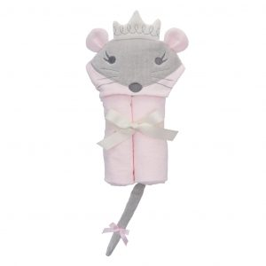 PRINCESS MOUSIE BABY BATH WRAP