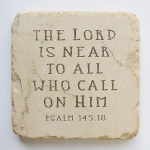 PSALM 145:18 SMALL, HALF AND QUARTER STONE BLOCK