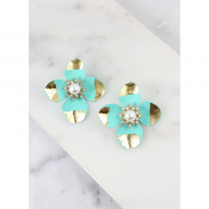 PUCK FLOWER EARRINGS