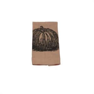 PUMPKIN FEED SACK TOWEL