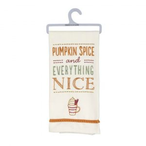 PUMPKIN SPICE DISH TOWEL