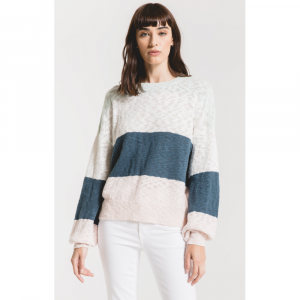 RAG POETS MONTEROSSO COLORBLOCK SWEATER