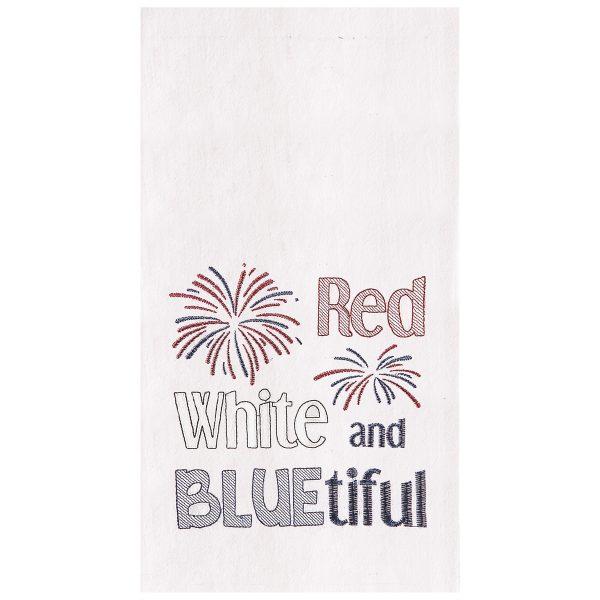 RED, WHITE & BLUETIFUL TOWEL