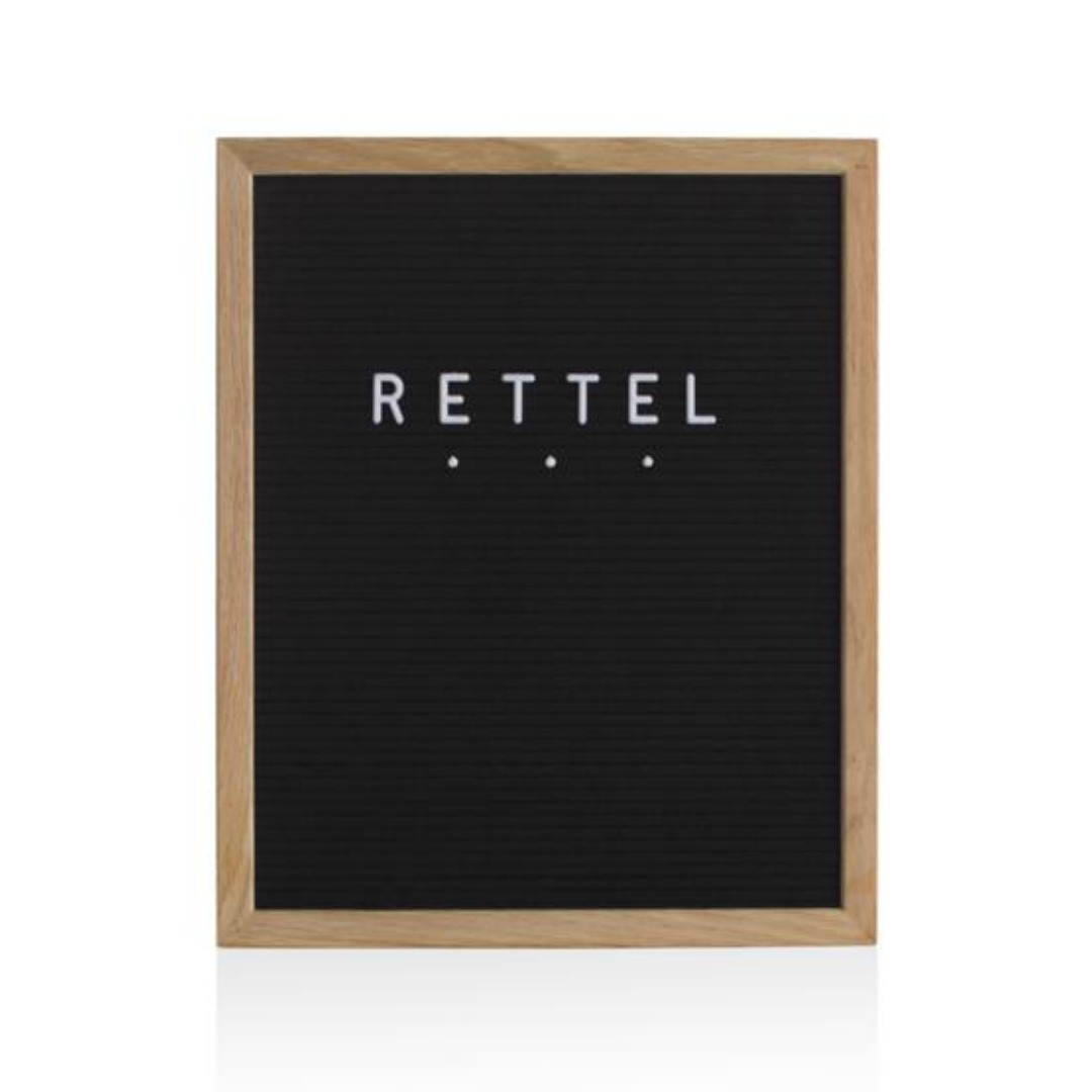 RETTEL CHIT-CHAT BOARD