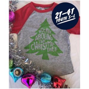 ROCKIN AROUND THE CHRISTMAS TREE LONG SLEEVE