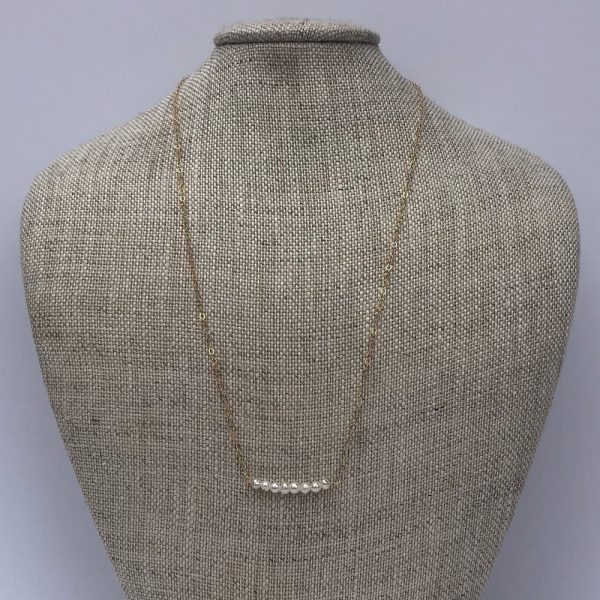 PATTY CLARKE DESIGNS RONDELLES BEAD ON CHAIN