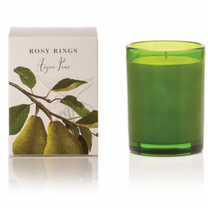 ROSY RINGS BOTANICA GLASS CANDLE