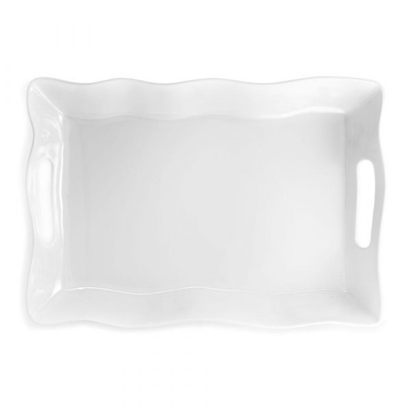 RUFFLE LARGE RECTANGLE TRAY