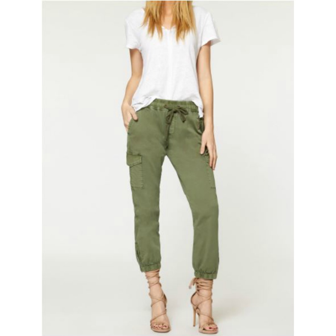 SANCTUARY OLIVE JOGGER CADET PANTS