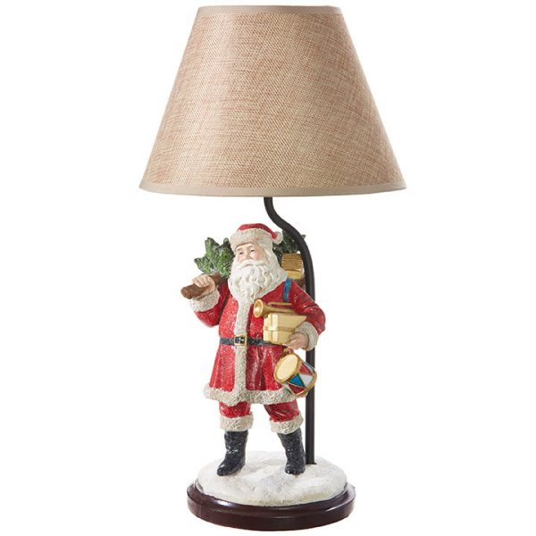 SANTA LAMP WITH SHADE