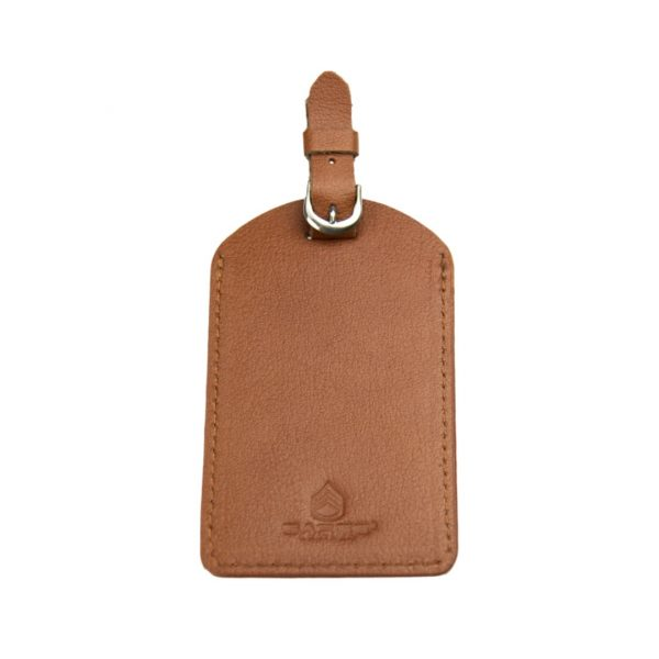SARGE KNIVES NOMAD LEATHER LUGGAGE TAG