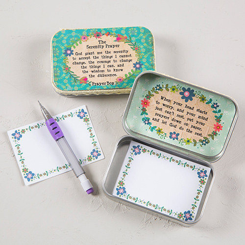 SERENTITY PRAYER BOX