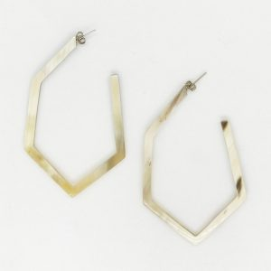 SHAPELY HORN EARRINGS