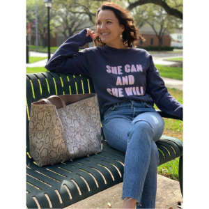 SHE CAN AND SHE WILL SWEATSHIRT
