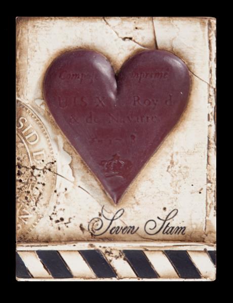 SID DICKENS SEVEN OF HEARTS BLOCK
