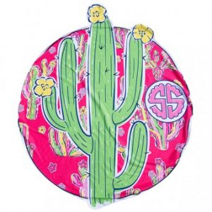 SIMPLY SOUTHERN CACTUS TOWEL