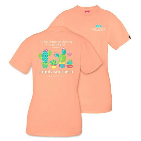 SIMPLY SOUTHERN PREPPY CACTUS TSHIRT